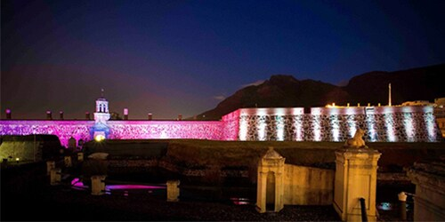 Castle of Good Hope illuminated 2